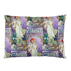 Alfons Mucha 1896 La Dame Aux Cam¨ lias Pillow Case