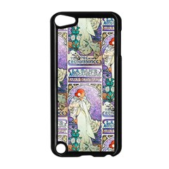 Alfons Mucha 1896 La Dame Aux Cam¨ lias Apple iPod Touch 5 Case (Black)