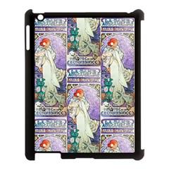 Alfons Mucha 1896 La Dame Aux Cam¨|lias Apple iPad 3/4 Case (Black)