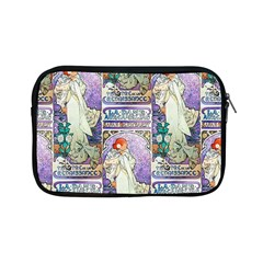 Alfons Mucha 1896 La Dame Aux Cam¨|lias Apple iPad Mini Zipper Cases