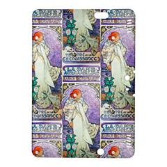 Alfons Mucha 1896 La Dame Aux Cam¨|lias Kindle Fire HDX 8.9  Hardshell Case