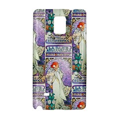 Alfons Mucha 1896 La Dame Aux Cam¨|lias Samsung Galaxy Note 4 Hardshell Case