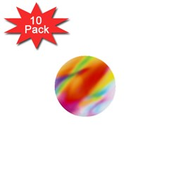 Blur Color Colorful Background 1  Mini Buttons (10 pack)