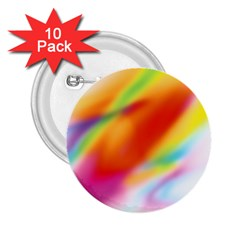 Blur Color Colorful Background 2.25  Buttons (10 pack)