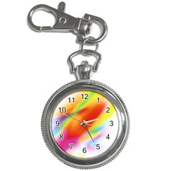 Blur Color Colorful Background Key Chain Watches