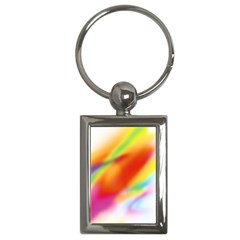 Blur Color Colorful Background Key Chains (Rectangle)