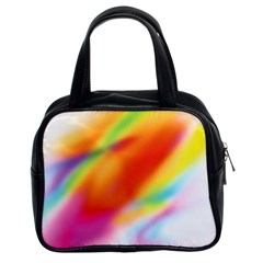 Blur Color Colorful Background Classic Handbags (2 Sides)