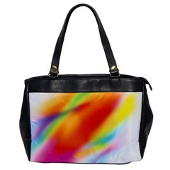 Blur Color Colorful Background Office Handbags
