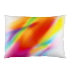Blur Color Colorful Background Pillow Case (Two Sides)