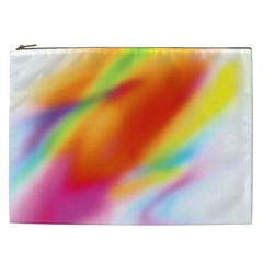 Blur Color Colorful Background Cosmetic Bag (XXL)
