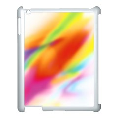 Blur Color Colorful Background Apple iPad 3/4 Case (White)