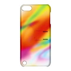 Blur Color Colorful Background Apple iPod Touch 5 Hardshell Case with Stand