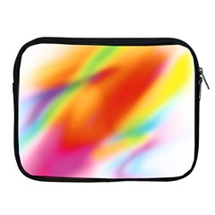 Blur Color Colorful Background Apple iPad 2/3/4 Zipper Cases