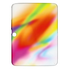 Blur Color Colorful Background Samsung Galaxy Tab 3 (10.1 ) P5200 Hardshell Case