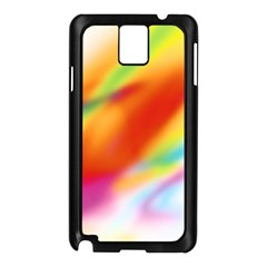 Blur Color Colorful Background Samsung Galaxy Note 3 N9005 Case (Black)