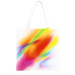Blur Color Colorful Background Grocery Light Tote Bag