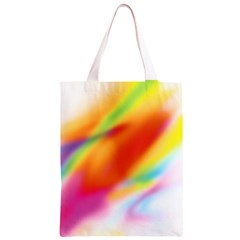 Blur Color Colorful Background Classic Light Tote Bag
