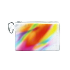 Blur Color Colorful Background Canvas Cosmetic Bag (S)