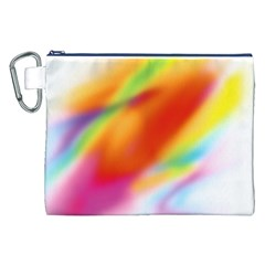 Blur Color Colorful Background Canvas Cosmetic Bag (XXL)