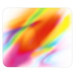 Blur Color Colorful Background Double Sided Flano Blanket (Small)