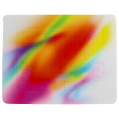 Blur Color Colorful Background Jigsaw Puzzle Photo Stand (Rectangular)