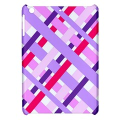 Diagonal Gingham Geometric Apple iPad Mini Hardshell Case