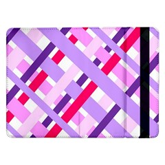 Diagonal Gingham Geometric Samsung Galaxy Tab Pro 12.2  Flip Case