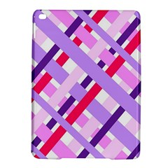 Diagonal Gingham Geometric iPad Air 2 Hardshell Cases