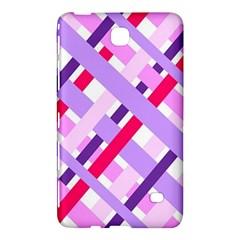 Diagonal Gingham Geometric Samsung Galaxy Tab 4 (8 ) Hardshell Case