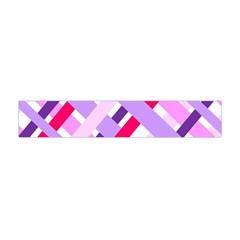 Diagonal Gingham Geometric Flano Scarf (Mini)