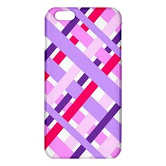 Diagonal Gingham Geometric iPhone 6 Plus/6S Plus TPU Case