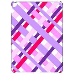 Diagonal Gingham Geometric Apple iPad Pro 12.9   Hardshell Case