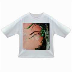 Background Stone Wall Pink Tree Infant/Toddler T-Shirts