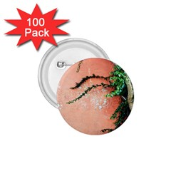 Background Stone Wall Pink Tree 1.75  Buttons (100 pack)