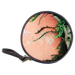 Background Stone Wall Pink Tree Classic 20-CD Wallets