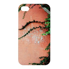 Background Stone Wall Pink Tree Apple iPhone 4/4S Hardshell Case