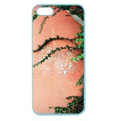 Background Stone Wall Pink Tree Apple Seamless iPhone 5 Case (Color)