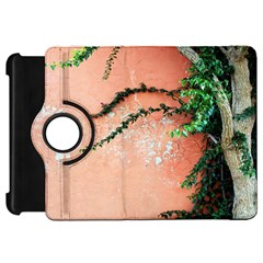 Background Stone Wall Pink Tree Kindle Fire HD 7