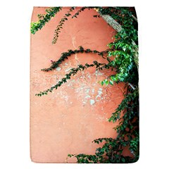 Background Stone Wall Pink Tree Flap Covers (S)