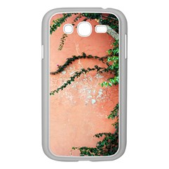 Background Stone Wall Pink Tree Samsung Galaxy Grand DUOS I9082 Case (White)