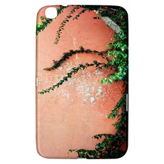 Background Stone Wall Pink Tree Samsung Galaxy Tab 3 (8 ) T3100 Hardshell Case