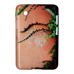 Background Stone Wall Pink Tree Samsung Galaxy Tab 2 (7 ) P3100 Hardshell Case