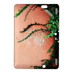 Background Stone Wall Pink Tree Kindle Fire HDX 8.9  Hardshell Case