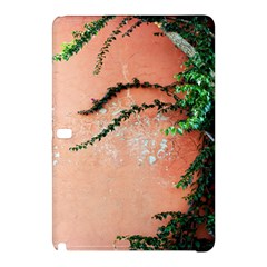 Background Stone Wall Pink Tree Samsung Galaxy Tab Pro 10.1 Hardshell Case