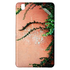 Background Stone Wall Pink Tree Samsung Galaxy Tab Pro 8.4 Hardshell Case