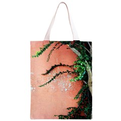 Background Stone Wall Pink Tree Classic Light Tote Bag