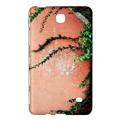 Background Stone Wall Pink Tree Samsung Galaxy Tab 4 (8 ) Hardshell Case