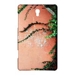 Background Stone Wall Pink Tree Samsung Galaxy Tab S (8.4 ) Hardshell Case