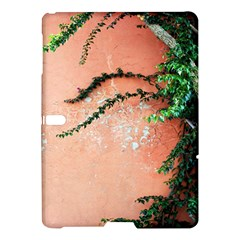 Background Stone Wall Pink Tree Samsung Galaxy Tab S (10.5 ) Hardshell Case