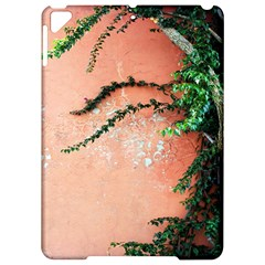 Background Stone Wall Pink Tree Apple iPad Pro 9.7   Hardshell Case